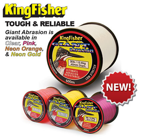 Picture of KINGFISHER Giant Abrasion 0.55mm 46lb 500m Orange