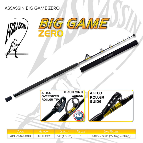 Picture of ASSASSIN Big Game Zero Troll 5ft6 50-80lb