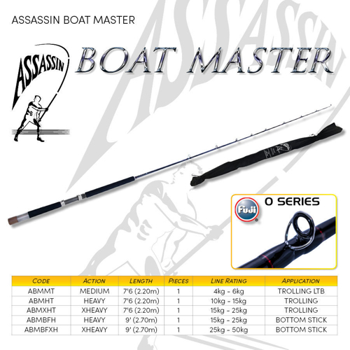 Picture of ASSASSIN Boat Master 7ft6 10-15kg 1pc