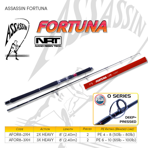 Picture of ASSASSIN Fortuna 8ft 50-80lb 2pc