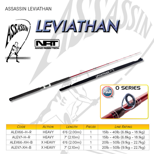 Picture of ASSASSIN Leviathan Boat 6ft6 15-40lb 1pc