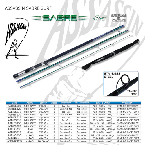 Picture of Assassin Sabre Surf