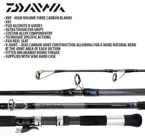 Picture of DAIWA Tournament Grinder14ft6 6-8oz 3pc