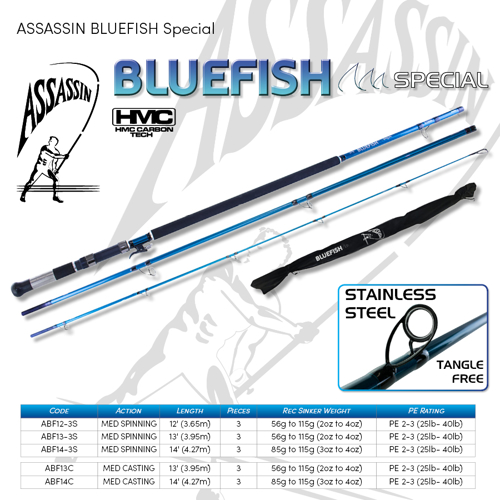Picture of ASSASSIN Bluefish Casting 13ft 2-4oz