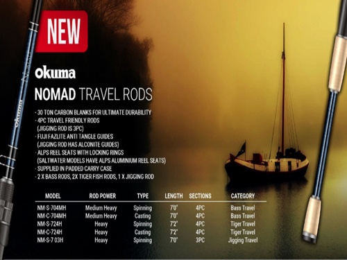 Picture of OKUMA Nomad Travel 7'ft  4pc MH