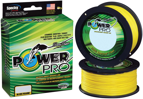 Picture of SHIMANO POWER PRO 50lb 300Yards Yellow