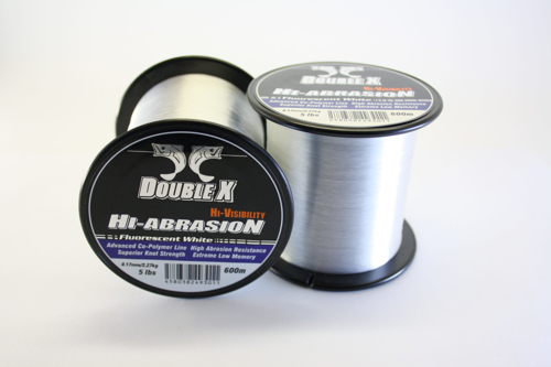 Picture of DOUBLE X High Abrasion 0.52mm 43lb 600m White