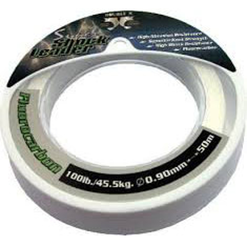 Picture of Double X Super Shock leader 0.60mm 50lb 50m