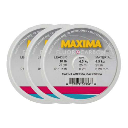 Picture of MAXIMA Fluorocarbon 0.22mm 2.7kg 25m