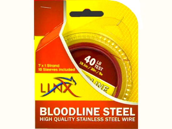 Picture of LINX Bloodline Steel Red 160lb 9m