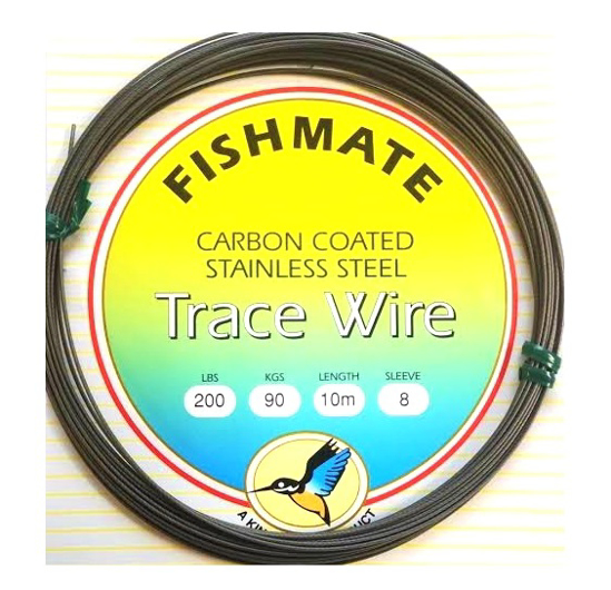 Picture of Fishmate Carbon Coated Stainless Steel 120lb 10m