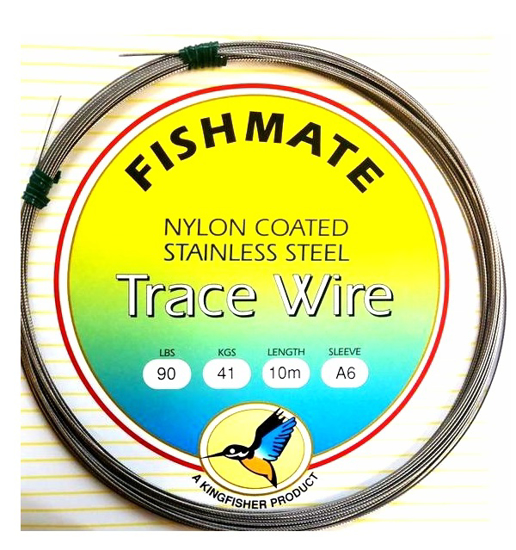 Picture of Fishmate Nylon Coated Stainless Steel 120lb 10m