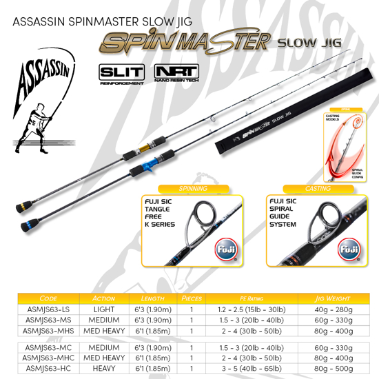 Picture of Assassin Spinmaster Slow Jig