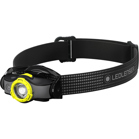 Picture of LEDLENSER MH5 Rechargeable Headlamp Black/Yellow