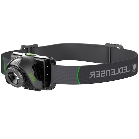 Picture of LEDLENSER MH6 Rechargeable Headlamp Black