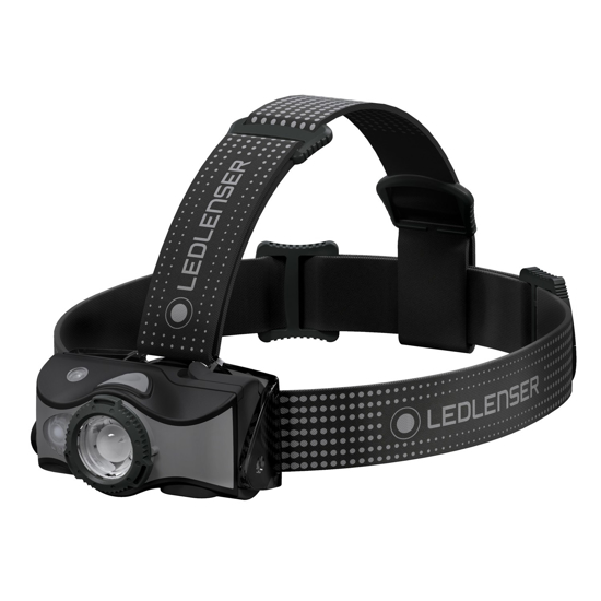 Picture of LEDLENSER MH7 Rechargeable Headlamp Black/Grey
