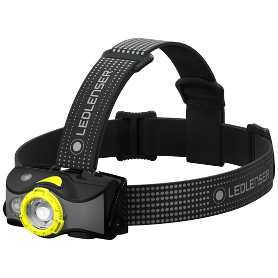 Picture of LEDLENSER MH7 Rechargeable Headlamp Black/Yellow