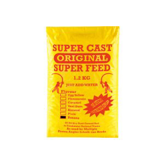 Picture of Super Cast 1.2kg Super Feed Banana