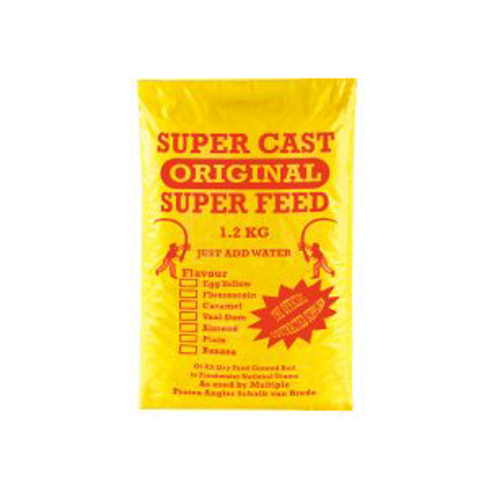 Picture of Super Cast 1.2kg Super Feed Almond