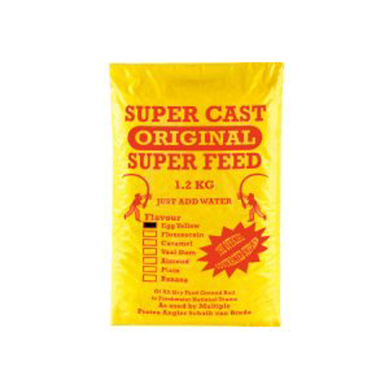 Picture of Super Cast 1.2kg Super Feed Egg Yellow