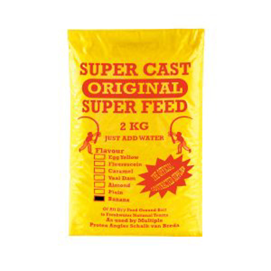 Picture of Super Cast 2kg Super Feed Banana