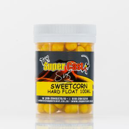 Picture of Super Cast 100ml Hard Floats Sweetcorn