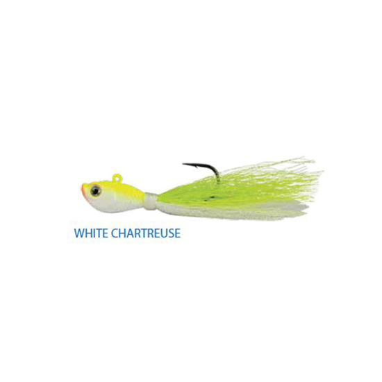 Picture of Blu Bucktail Jig 0.5oz White Chartreuse